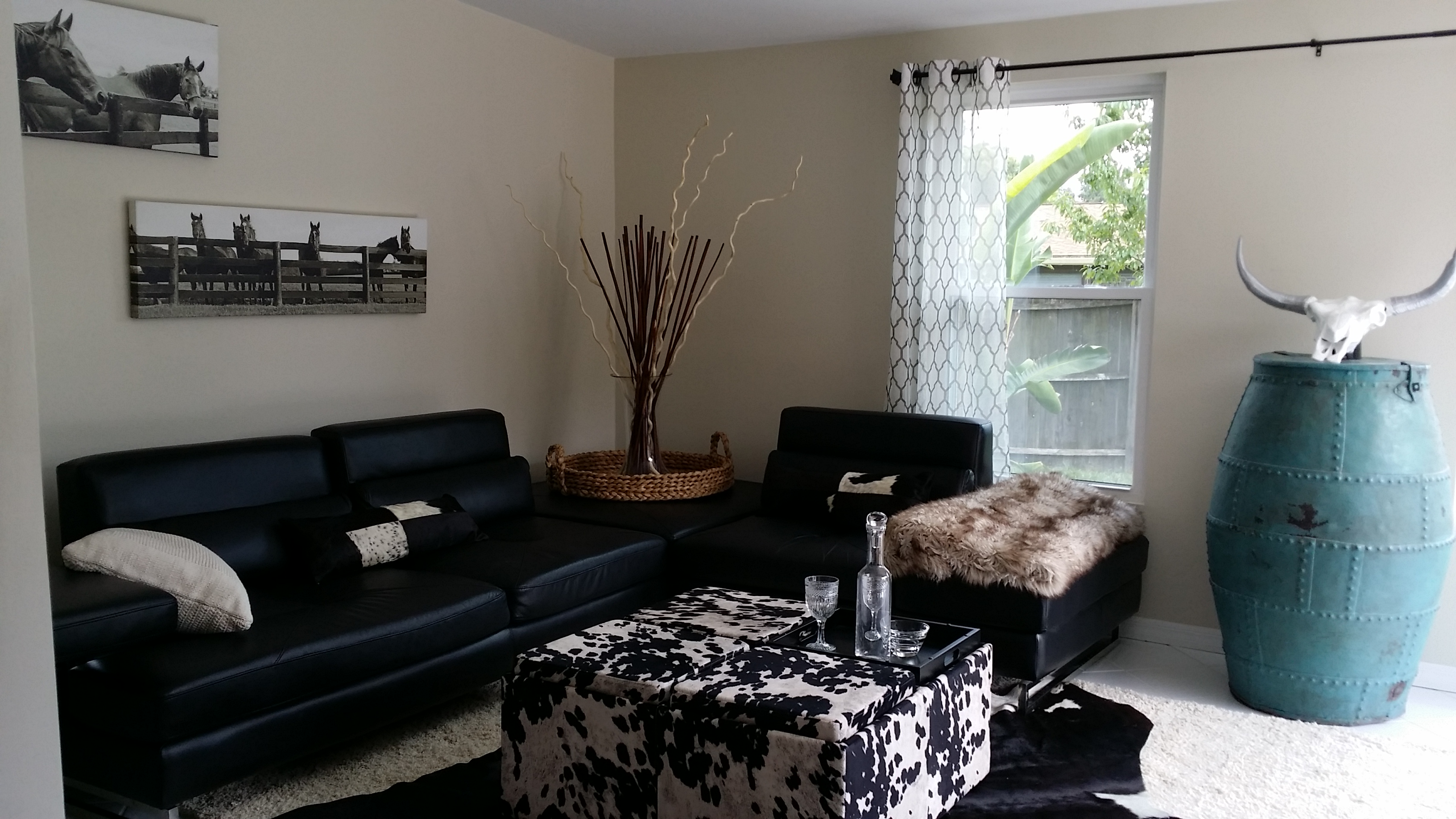 In november we added plantation shutters and i furnished with a sofa - 2015 07 11 14 52 59