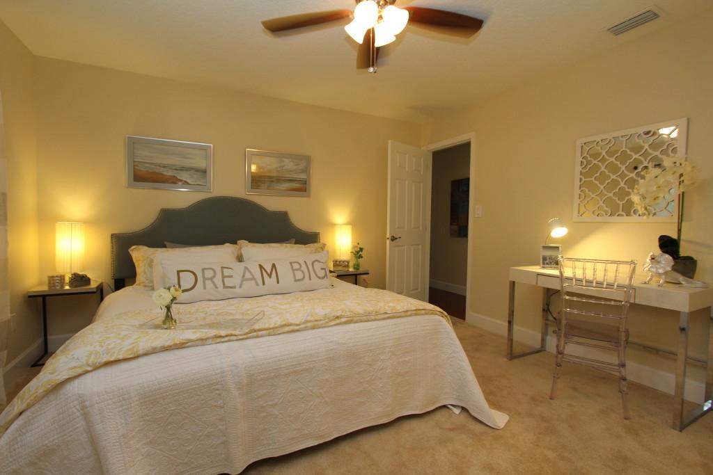 Master bedroom with plenty of room