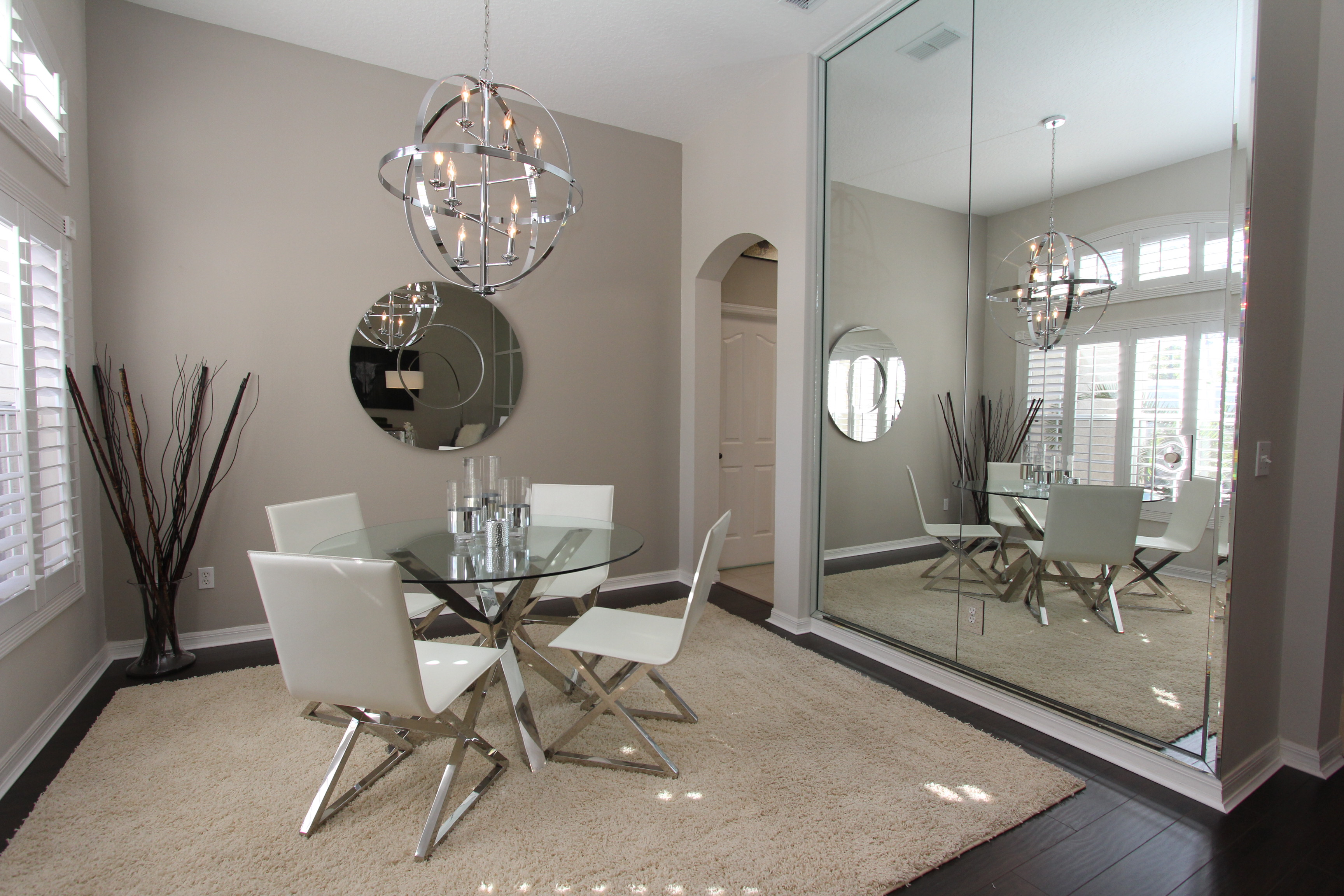 Staging A Formal Dining Room